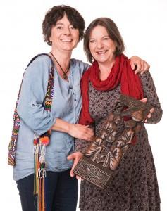 Der Freundschaft von Edith Lahner (links) und Michaela Hirsch haben die jahrelangen Auslandsaufenthalte von Michaela nichts anhaben können. Im Gegenteil – Frequenz innig!