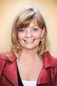 Nilsson, Inger - Schauspielerin, Halbportrait