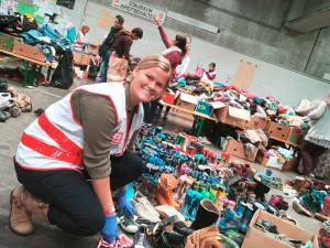 Katie Letheren kam aus den USA nach Österreich, um das zu tun, was sie glücklich macht: helfen. In den acht Wochen im Flüchtlingslager in Linz erlebte sie viel Schmerz und Verzweiflung - aber auch viel Dankbarkeit.