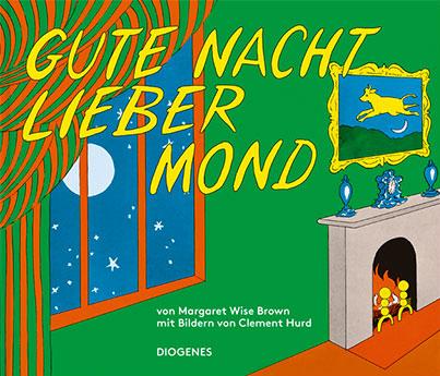 Margaret Wise Brown/Clement Hurd:Gute Nacht, lieber Mond.Diogenes Verlag, 2–4 Jahre, 14,40 Euro