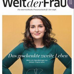Welt der Frau, die österreichische Frauenzeitschrift, November 2015