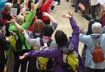 """kfb unterwegs - Tag 2Katharina von Siena oder unser """"Sienatag"""""""