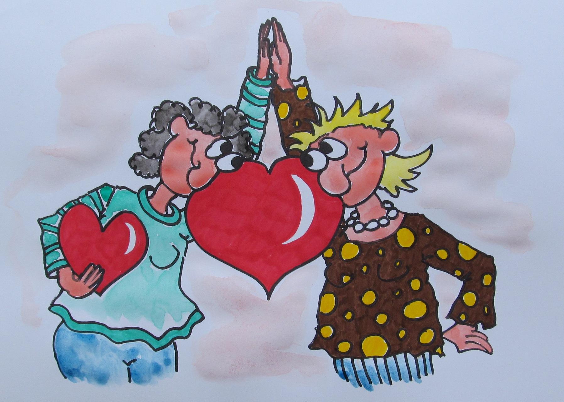 29. Jänner: ...beste Freundinnen...
