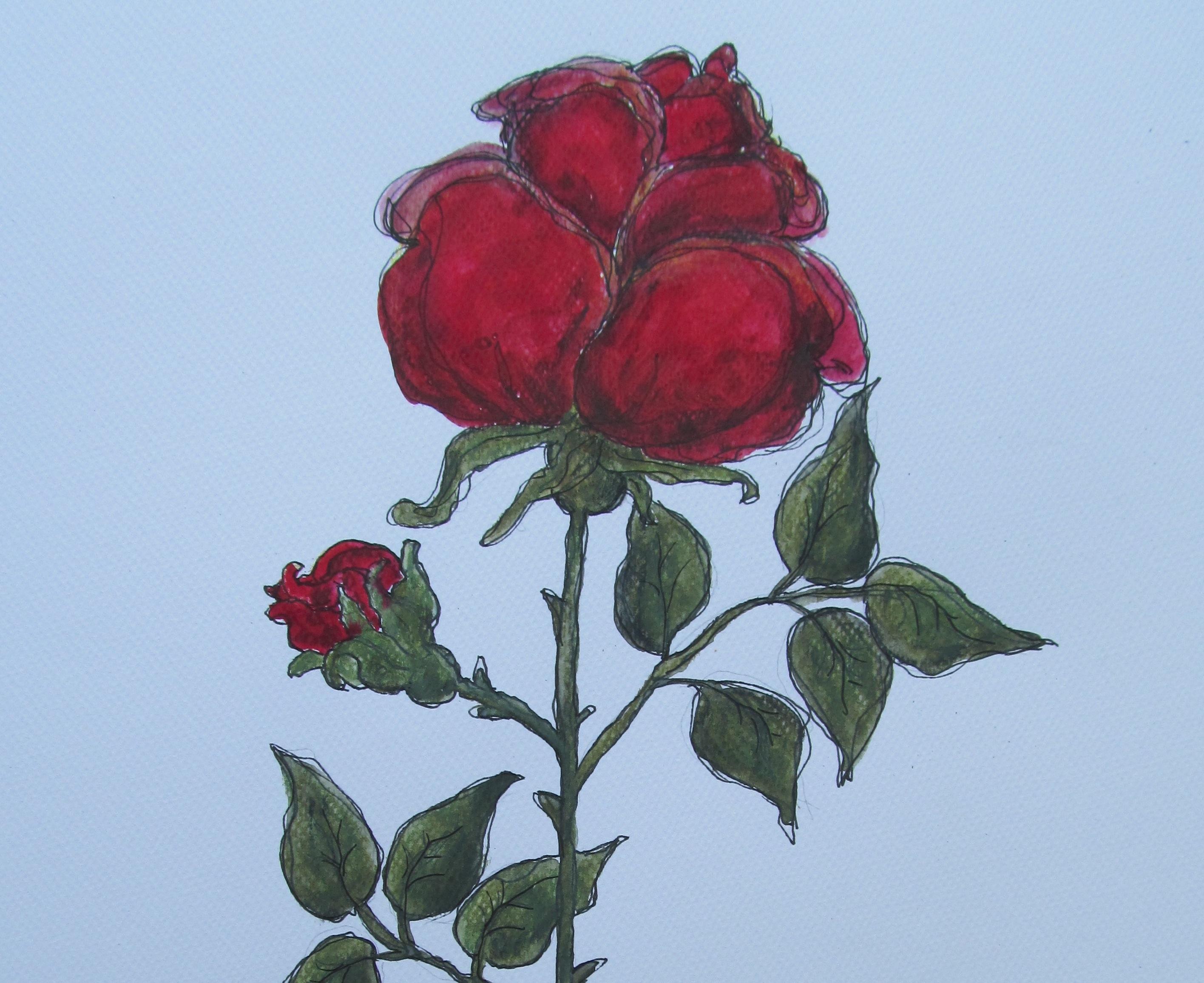 5. Jänner: ...für mich eine Rose...