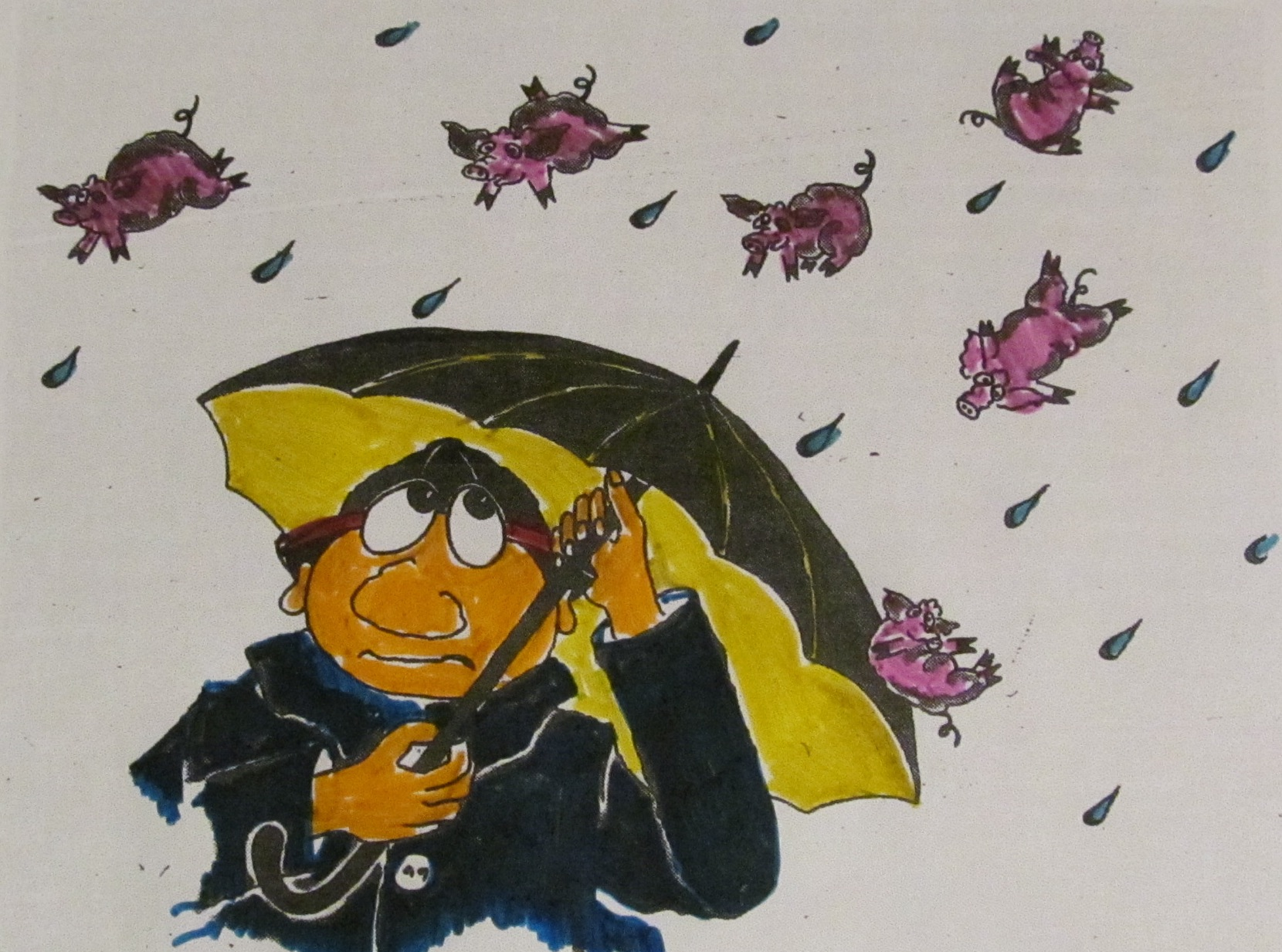 16. Jänner: ...Schweinerei!...