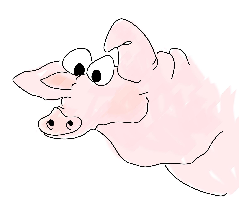 2. Jänner: ...das Glück - Vogerl oder Schweinderl?...
