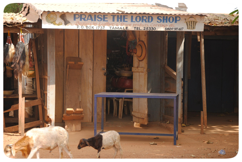 Christa Langheiters Ghana-Blog - Tag 5: Geschäfte mit Gott
