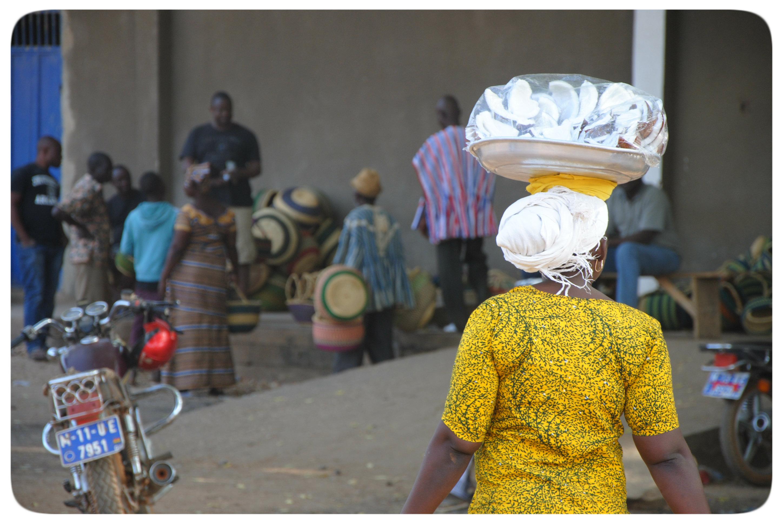 Christa Langheiters Ghana-Blog - Tag 6: Aufrecht