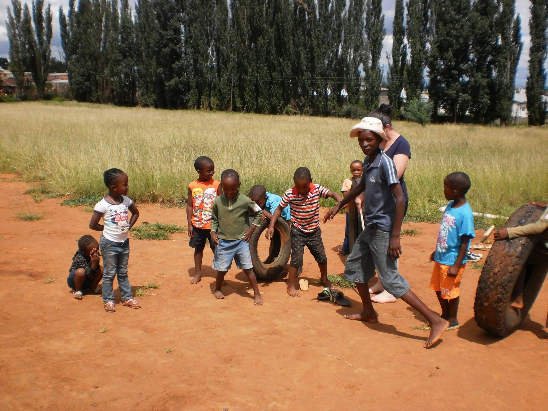 Magdalena in Lesotho: Die ersten Tage