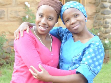 Magdalena in Lesotho ... Beziehungen