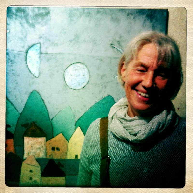 Helga Hofer und die Mondsichel