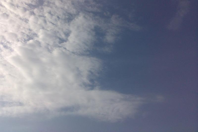 Tag #9: Commenda und der Himmel