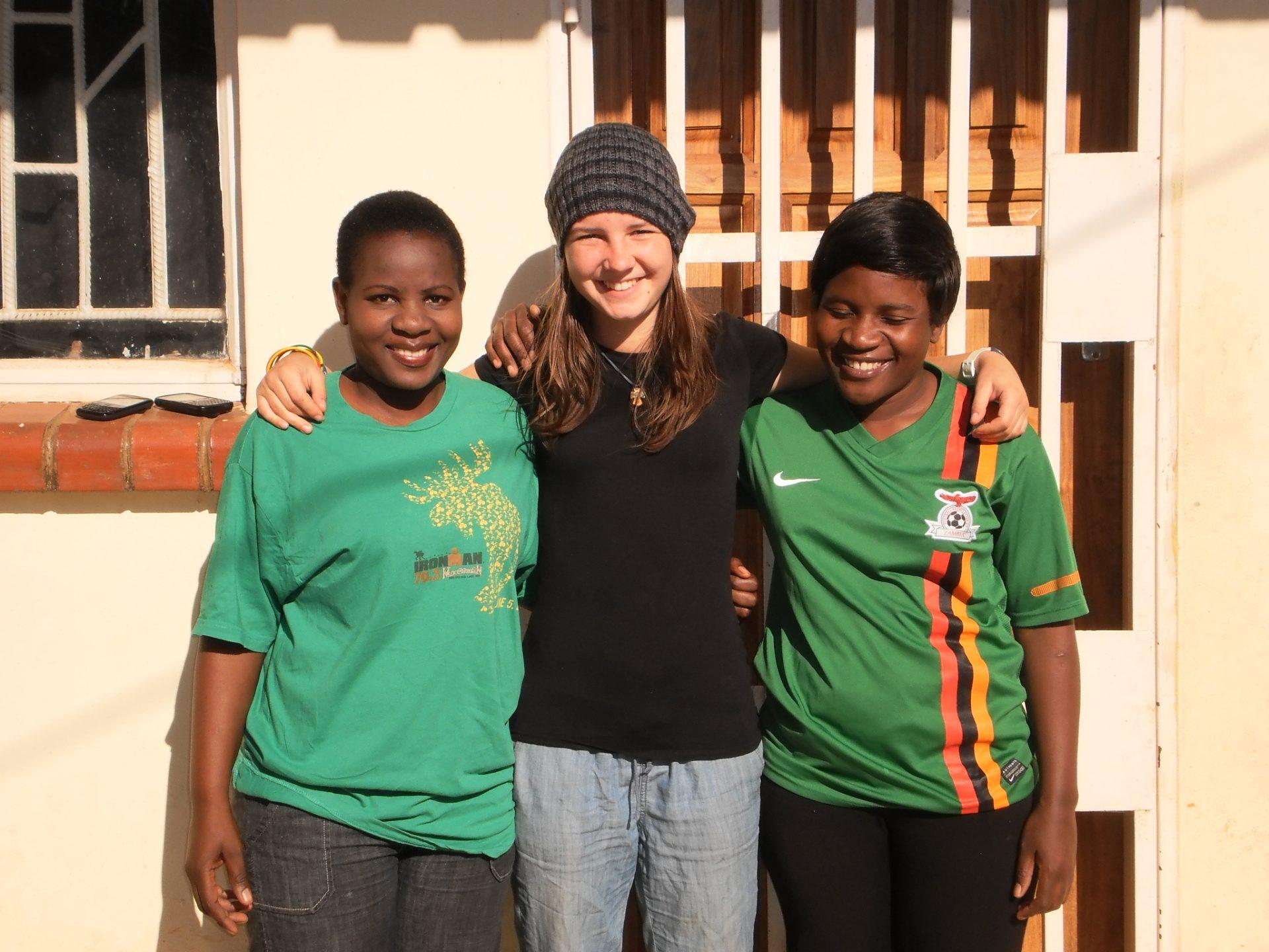 Magdalena in Lesotho ... Sambia (1)