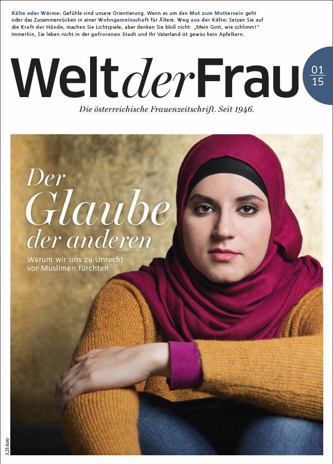 Welt der Frau, die österreichische Frauenzeitschrift, Jänner 2015
