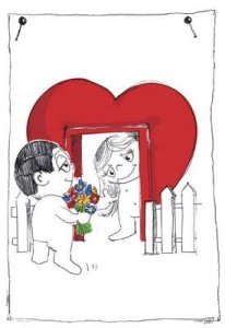 Illustration Liebe ist...