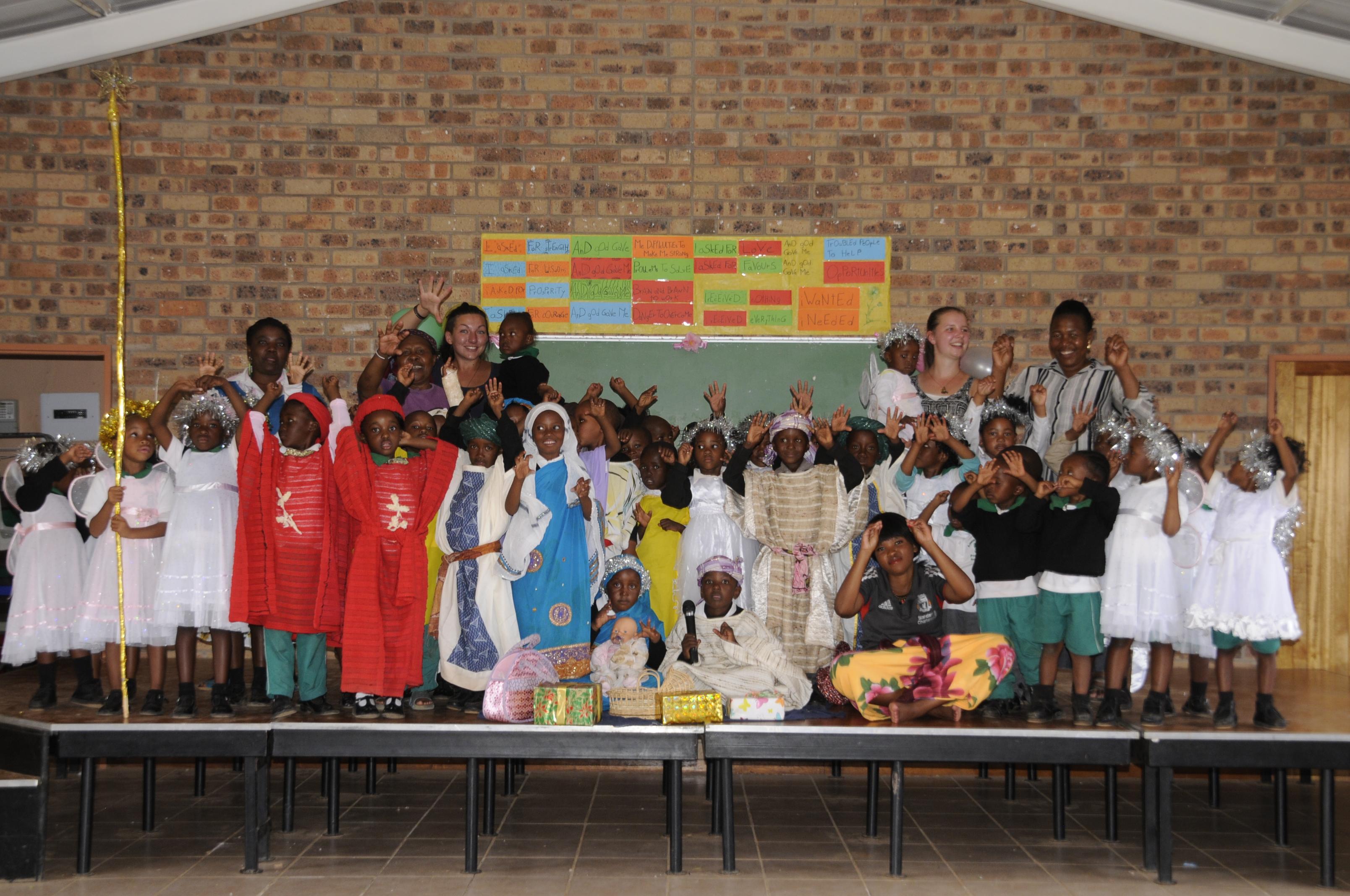 Weihnachten in Lesotho