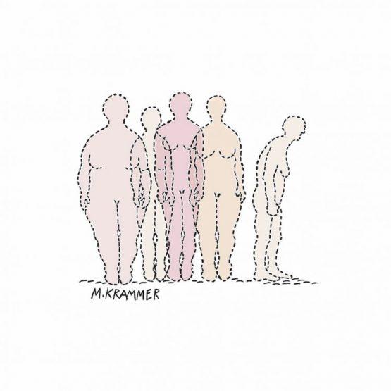 Illustration über Körperbild