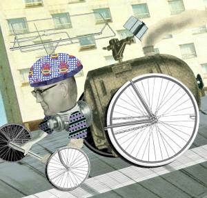 Digitalisierung Illustration