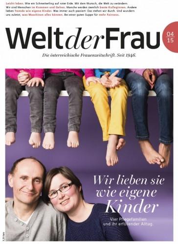 Welt der Frau, die österreichische Frauenzeitschrift, April 2015
