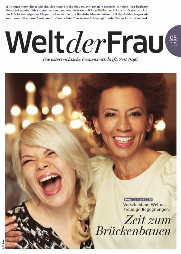 Welt der Frau, die österreichische Frauenzeitschrift, Mai 2015
