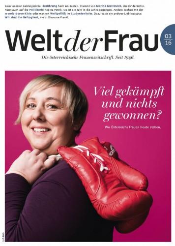 Welt der Frau, die österreichische Frauenzeitschrift, März 2016