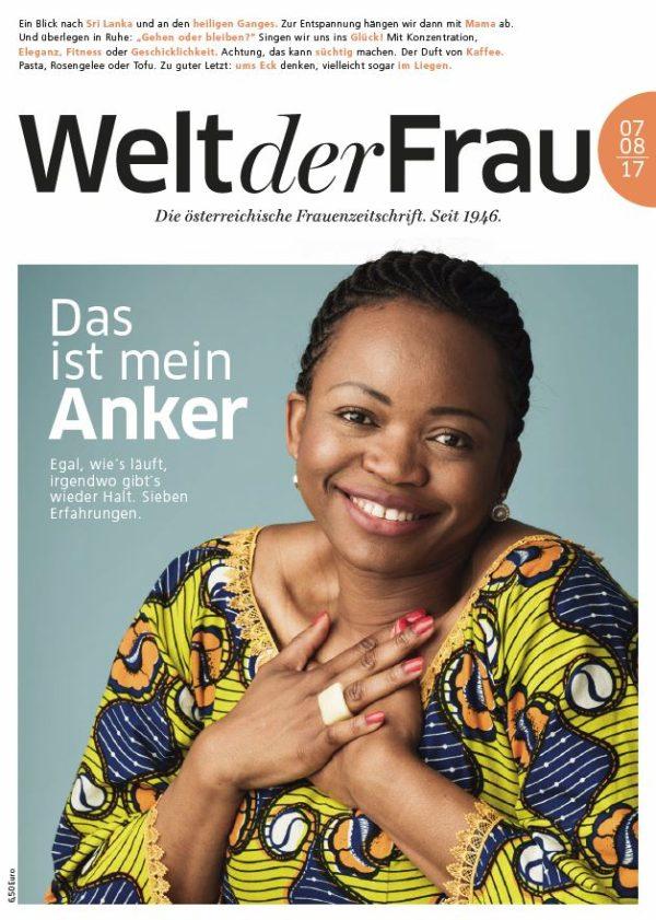 Welt der Frau, die österreichische Frauenzeitschrift, Juli/August 2017