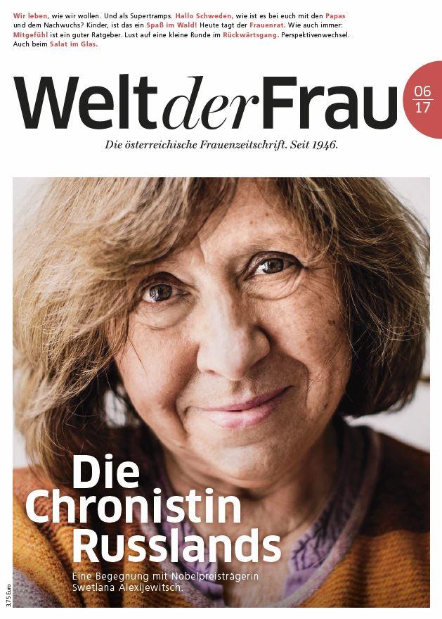 Welt der Frau, die österreichische Frauenzeitschrift, Juni 2017