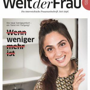 Welt der Frau, die österreichische Frauenzeitschrift, Oktober 2017