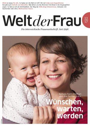 Welt der Frau, die österreichische Frauenzeitschrift, Dezember 2017
