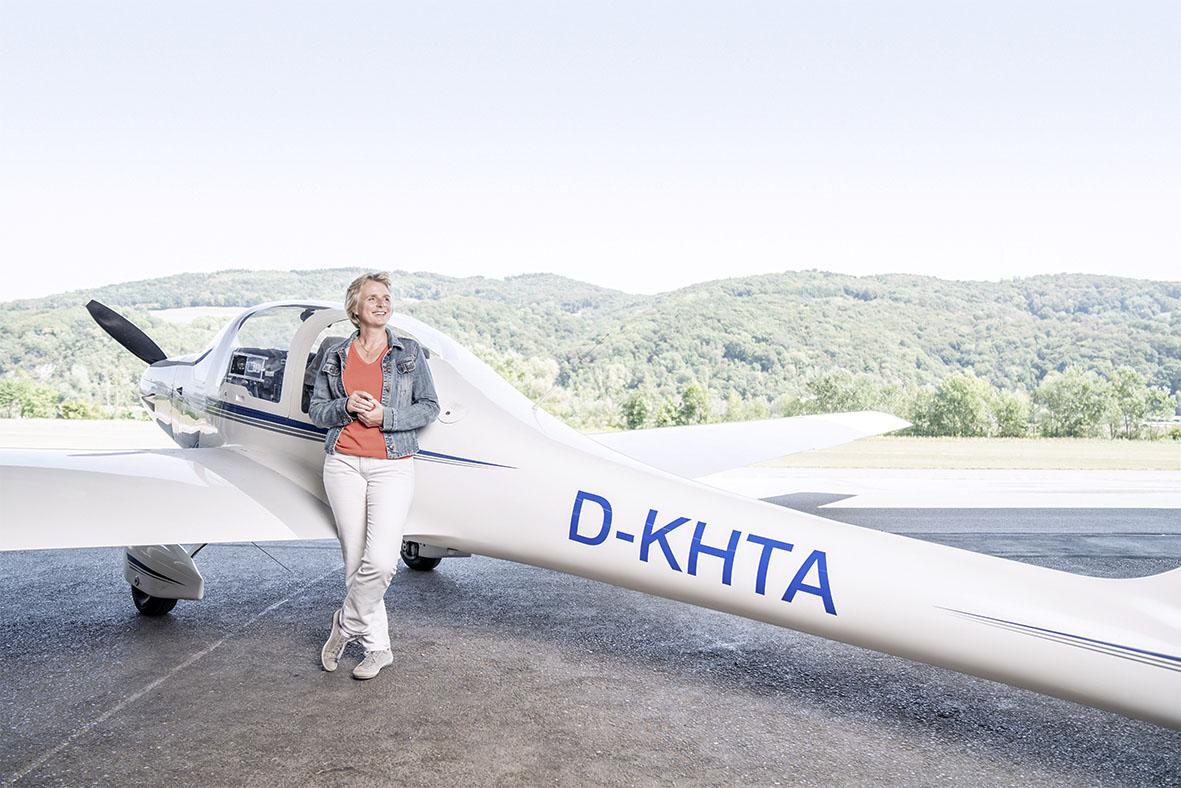 Pilotin des eigenen Lebens