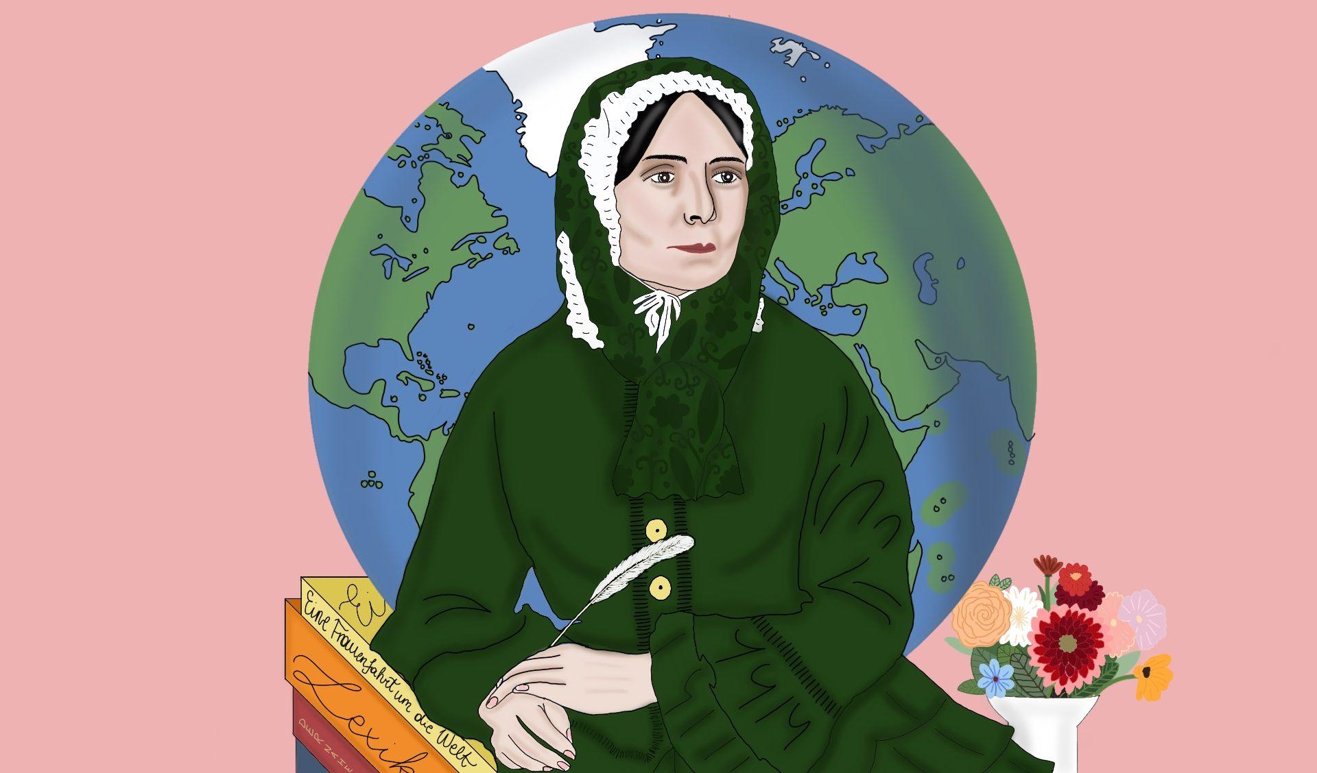 Ida Pfeiffer: Weltreisende, Abenteurerin und Autorin