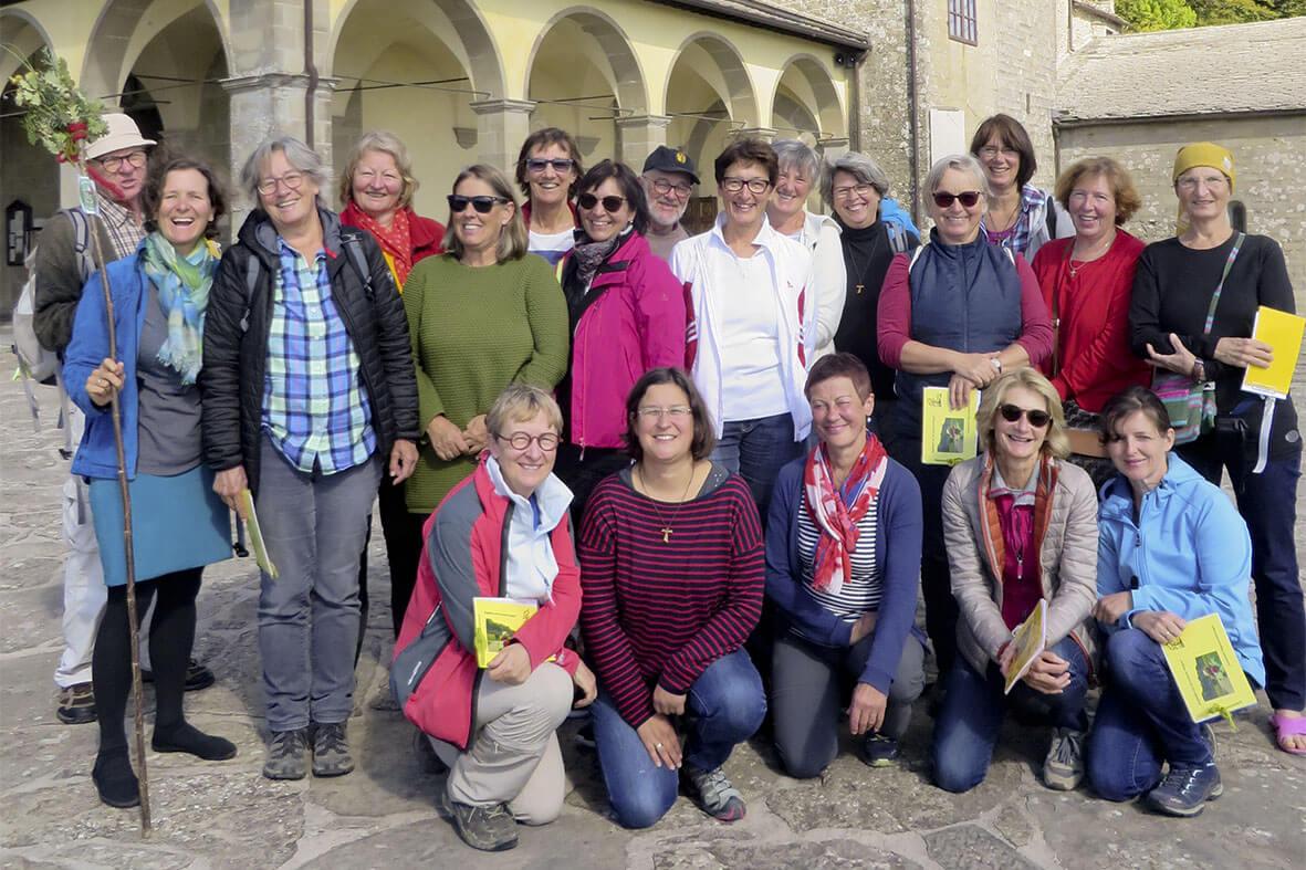 Wandern durch Italien