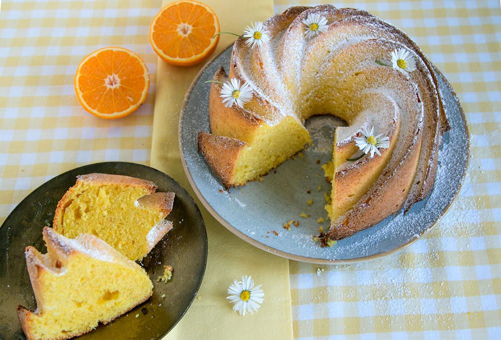 Rezept: Orangen-Gugelhupf