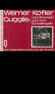 Buch Werner Kofler Guggile