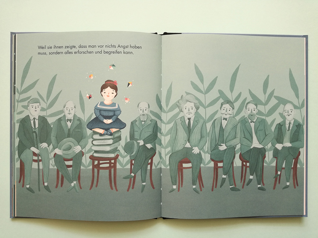 Kinderbuch Marie Curie