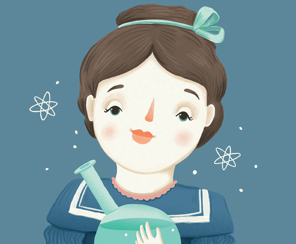 Kinderbuch: Marie Curie