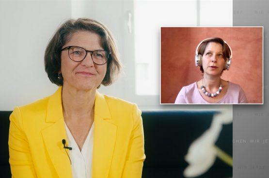 Christine Haiden und Barbara Pachl-Eberhart