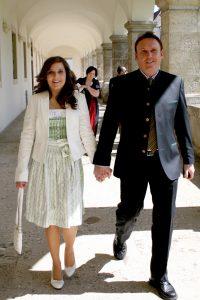Firmung Sarah Katharina Mistlberger und ihr Vater