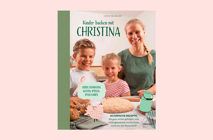 Buchempfehlung: Kinder backen mit Christina
