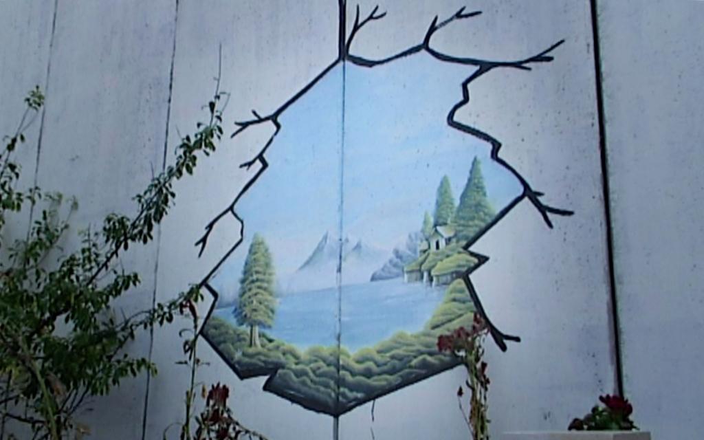 Das palästinensische Graffiti