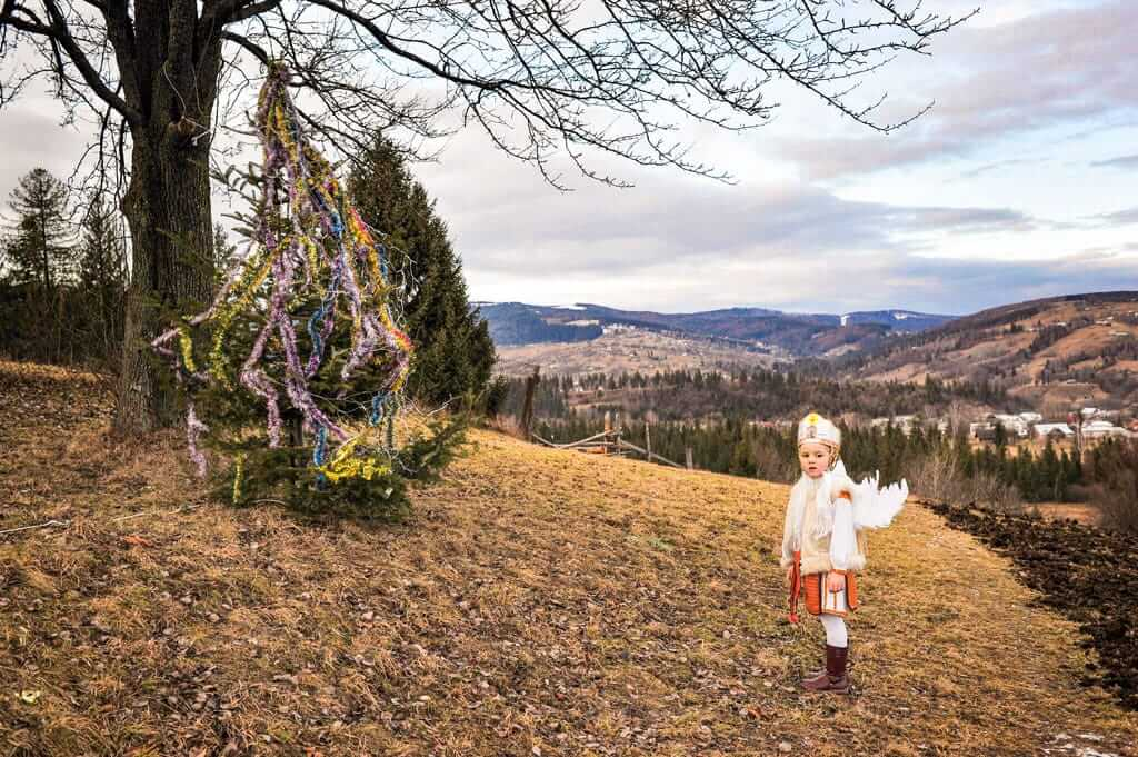 Zu Weihnachten kommt der Engel