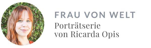 Ricarda Opis: Frau von Welt