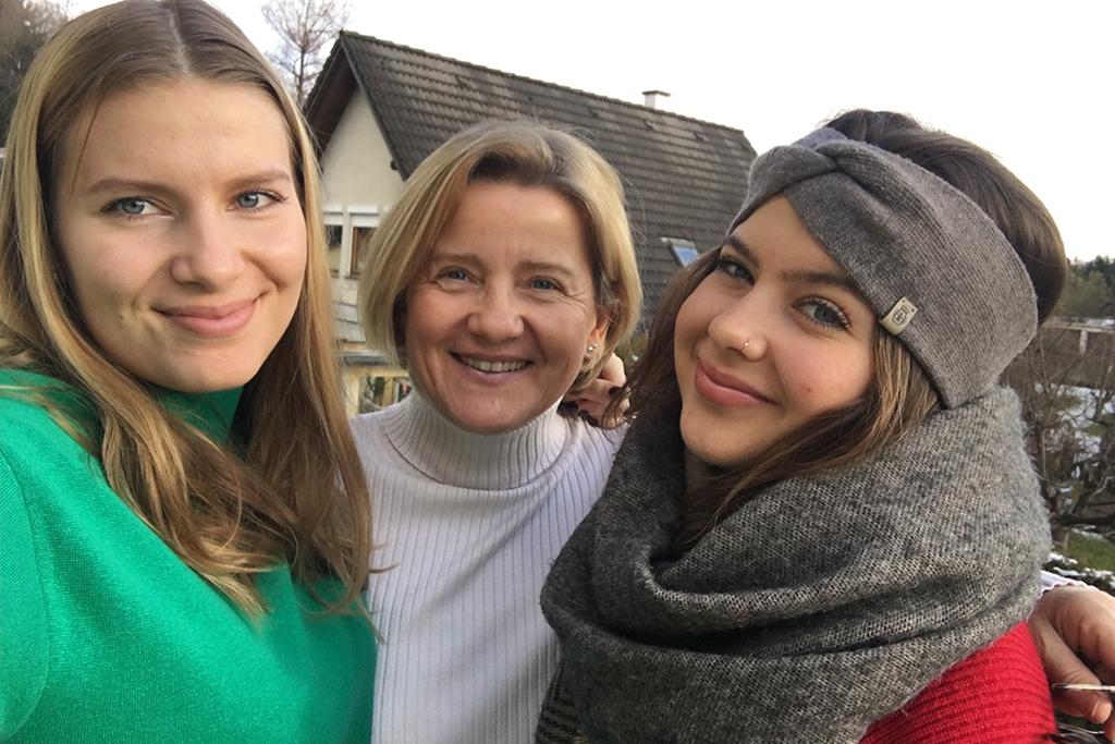 Meine wunderbaren Töchter Alexandra und Patricia