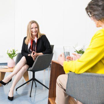 Anna Maria Dieplinger im Gespräch mit Christine Haiden