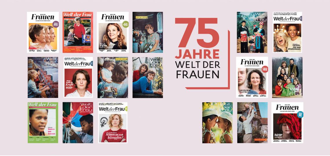"""75 Jahre """"Welt der Frauen"""" Jubiläum"""