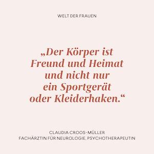 Zitat Claudia Croos-Müller
