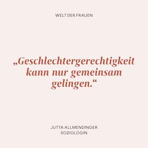 Zitat Jutta Allmendinger