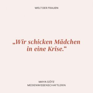 Zitat Maya Götz