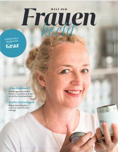 Cover der Welt der Frauen kocht-Ausgabe 2018