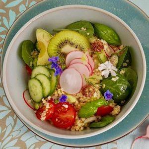 Rezept: Hirse Gemüse Salat